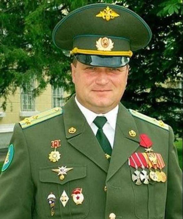 Росія, генерал, Донбас