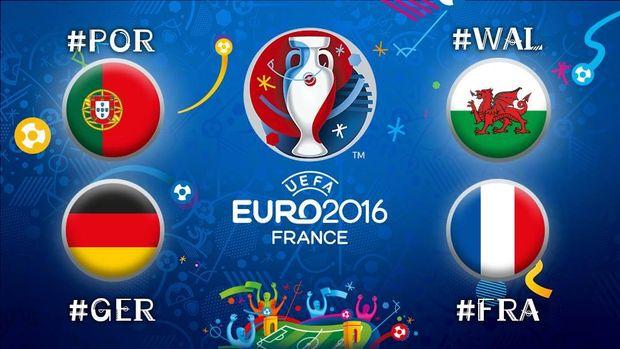 Евро-2016, Франция, Германия, Уэльс, Португалия