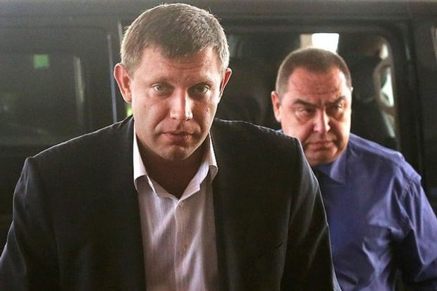 Плотницький, Захарченко, ДНР, ЛНР