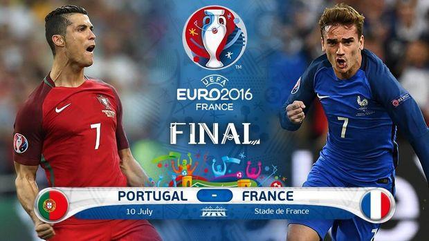 Португалія, Франція, Євро-2016, футбол