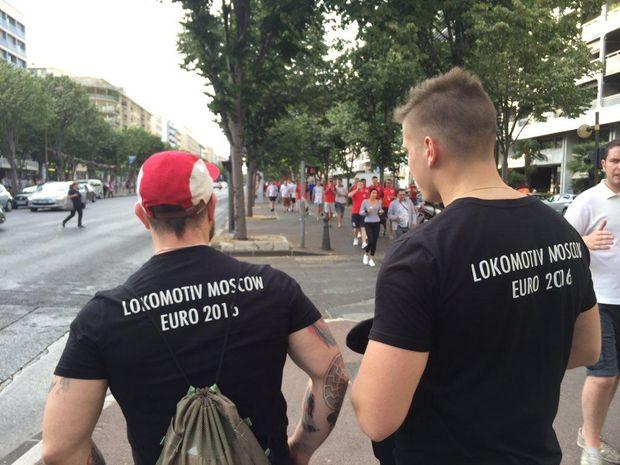 Російські фанати, Євро-2016