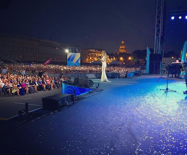 Ані Лорак, концерт, Петербург