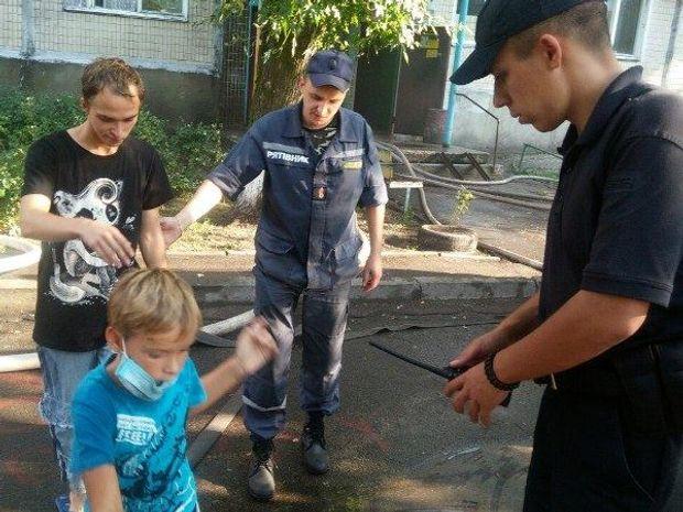 Пожежа, Київ, Деснянський район