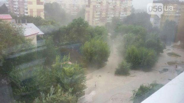 Буревій, Дніпро, Негода