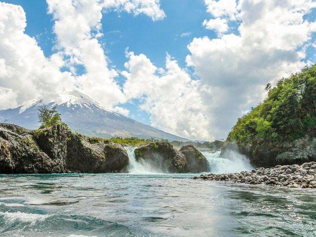 Водоспади Петроуе, Чилі, туризм