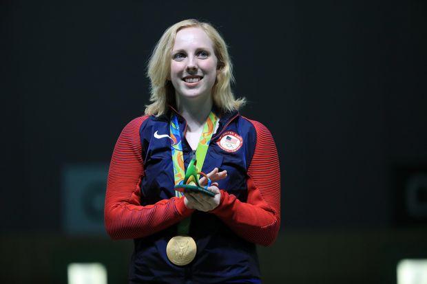 Вірджинія Трешер, золото, Олімпіада