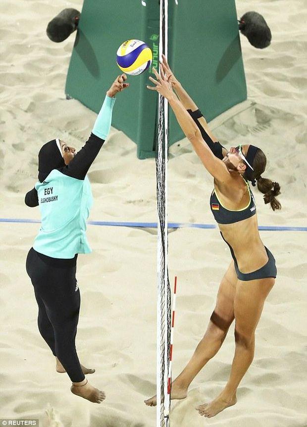 Пляжный волейбол, Египет, Германия