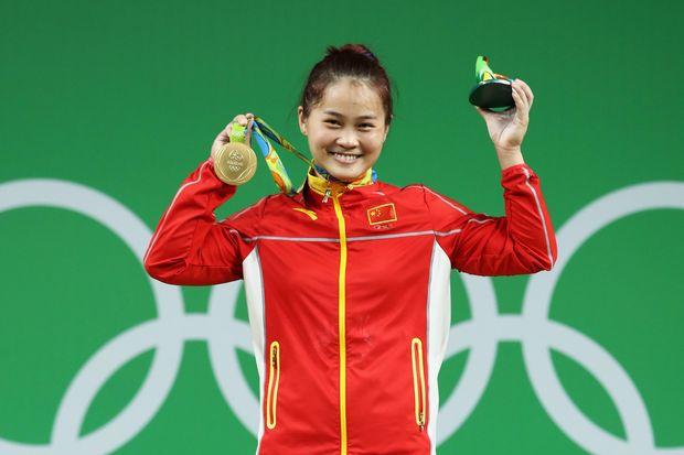 Ден Вей, китай, важка атлетика