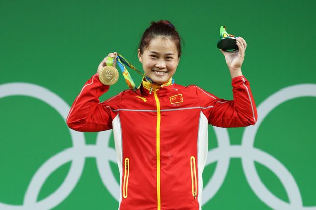 Ден Вей, Китай, тяжелая атлетика