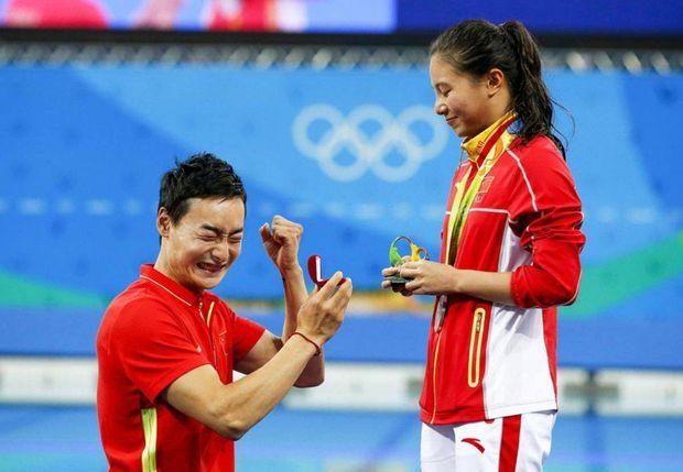 Олімпіада, Китай, кохання