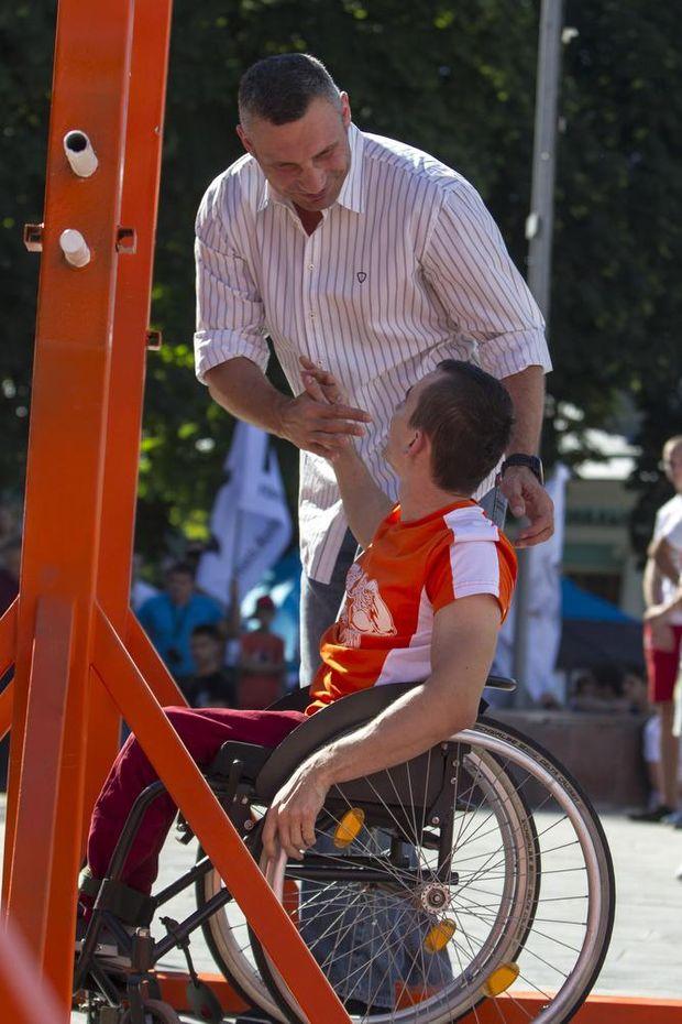 Кличко, інваліди, КИїв