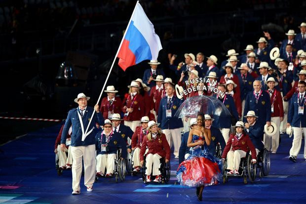 Росія, Паралімпіада