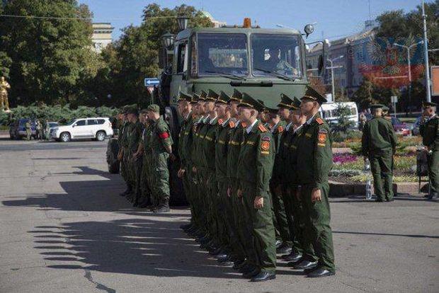 ВДонецке провели торжественные похороны уничтоженного главаря террористов