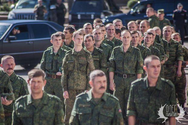 ВДонецке помпезно похоронили командира бандформирования «Кальмиус»