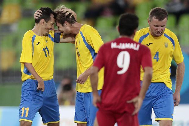 Україна, Іран, Паралімпіада, футбол