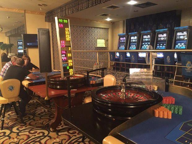 Вкиевском коммерческом центре скрывалось тайное казино