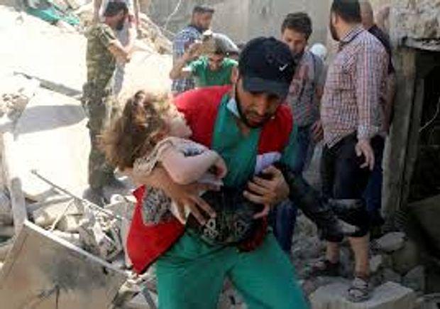 Через бомбардування Росією Сирії загинули сотні людей