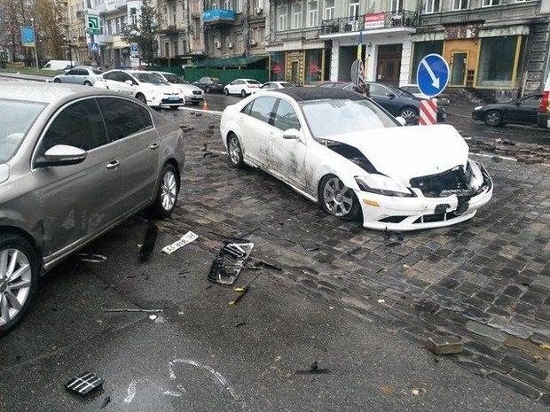 Київ, Небесна сотня, аварія