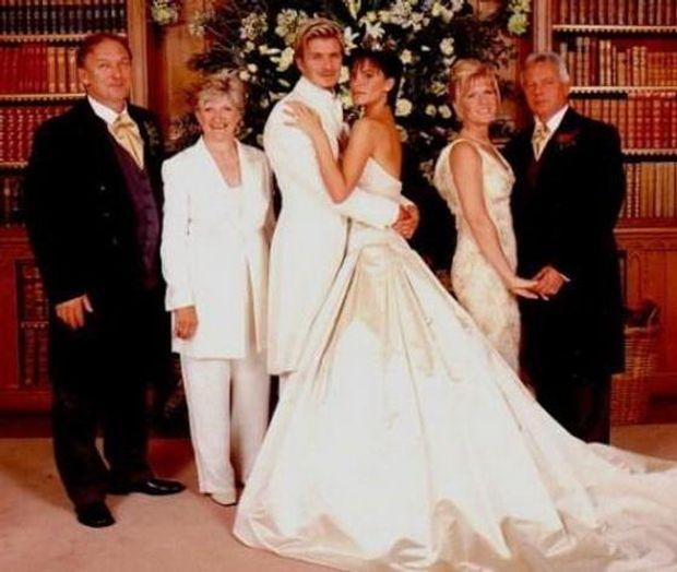 Свадебные платья виктория бекхэм