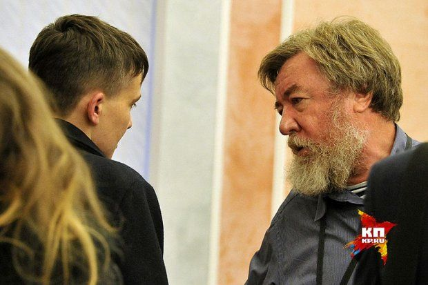 Савченко, пропаганда, Росія