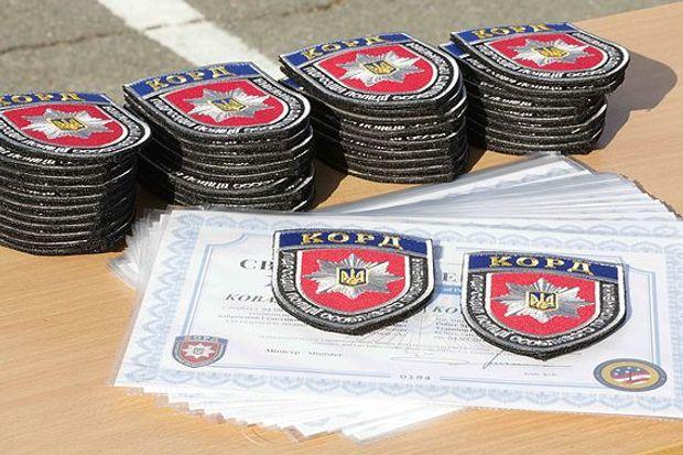 Бойцов КОРД, закончивших курс подготовки, направят вдве украинские области