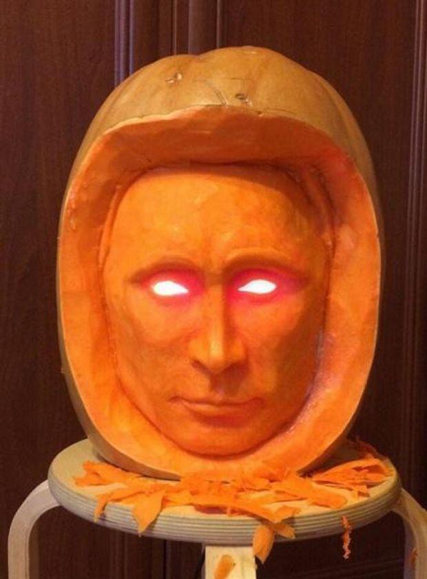 Путин, Хэллоуин