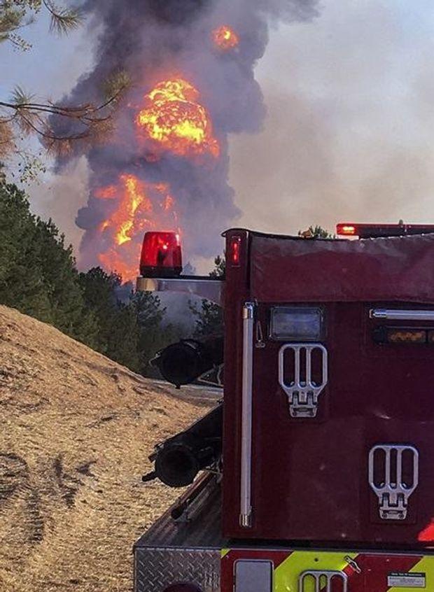 Газопровід, США, вибух