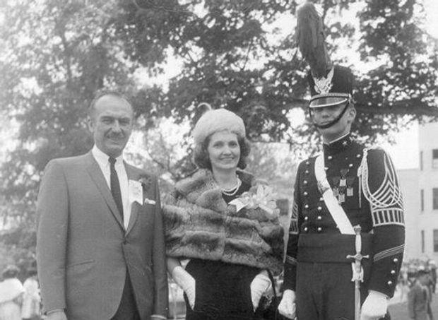 Дональд Трамп з батьками
