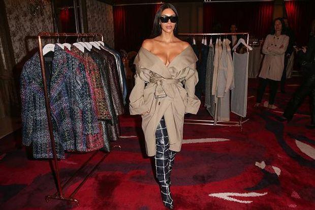 Ким Кардашян, красота, мода