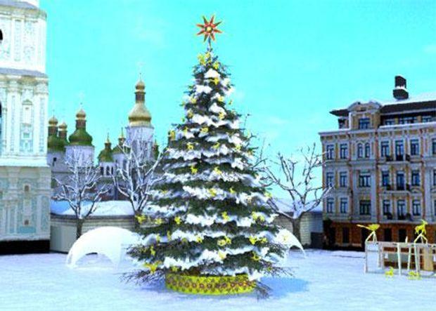 Ялинка, Київ