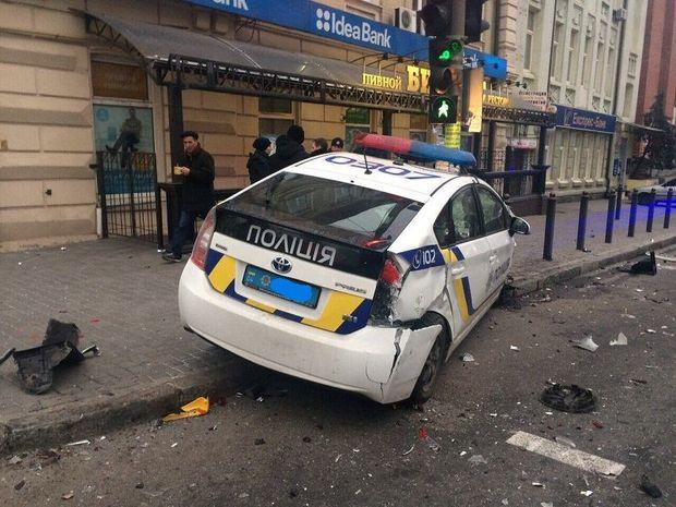 Аварія, Дніпро, поліція