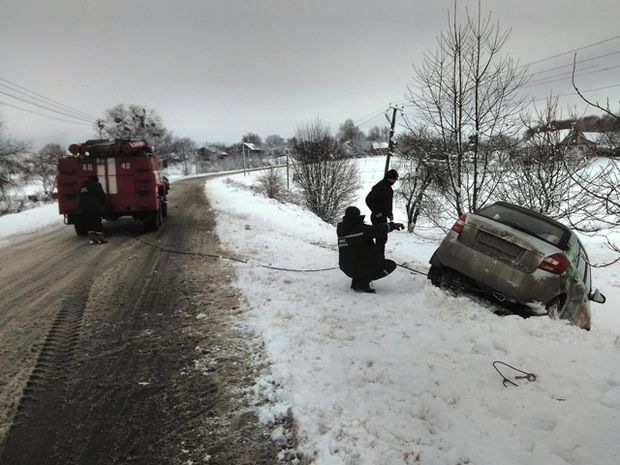 Снігопад, Україна, ДСНС