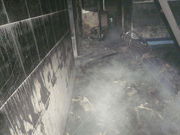 Пожежа, Краматорськ, військові