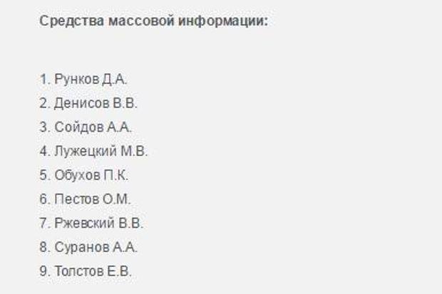 Журналісти, ЗМІ, Росія