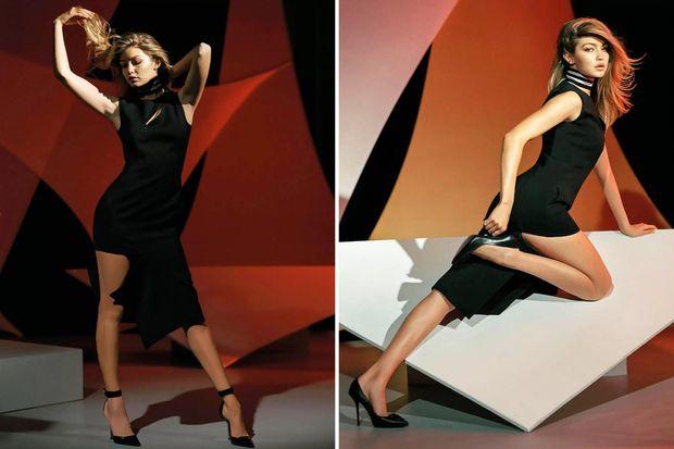 Хадид, Versace
