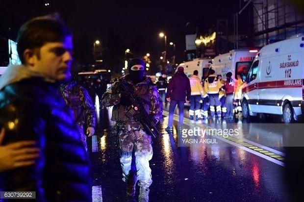 Стрілянина, Стамбул