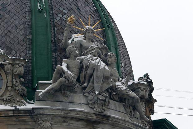Статуя Свободи, Львів