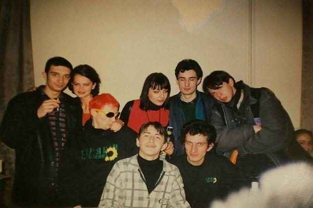 Сергій Притула показав раритетне фото з першого знайомства з Кузьмою