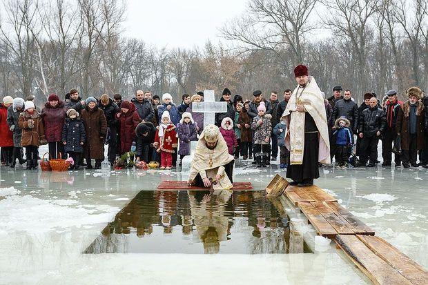 Крещение 2018 в Украине как правильно купаться