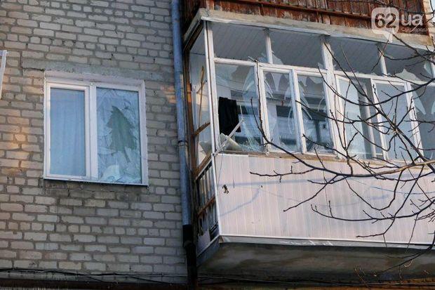 Будинок, обстріл, Докучаєвськ