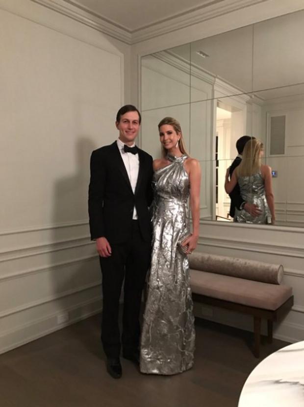 Трамп, Кушнер, сукня