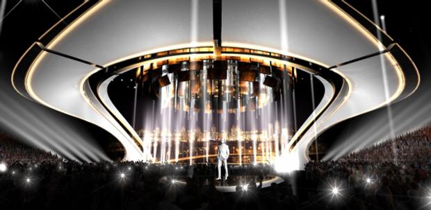 Євробачення-2017: з'явилися фото головної сцени конкурсу