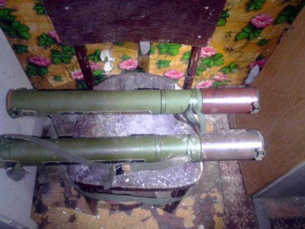 Зброя, Донбас