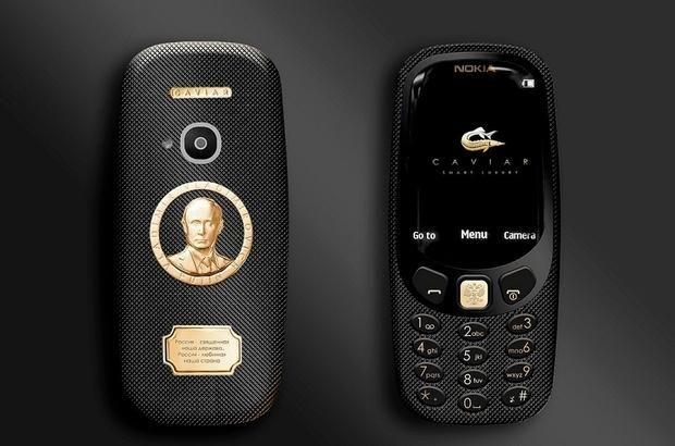 Путін, Nokia