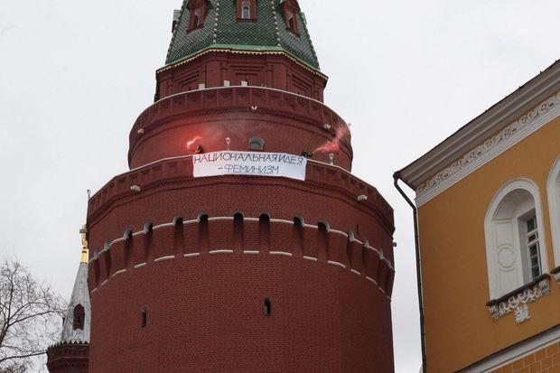 Фемінізм, Росія, Кремль