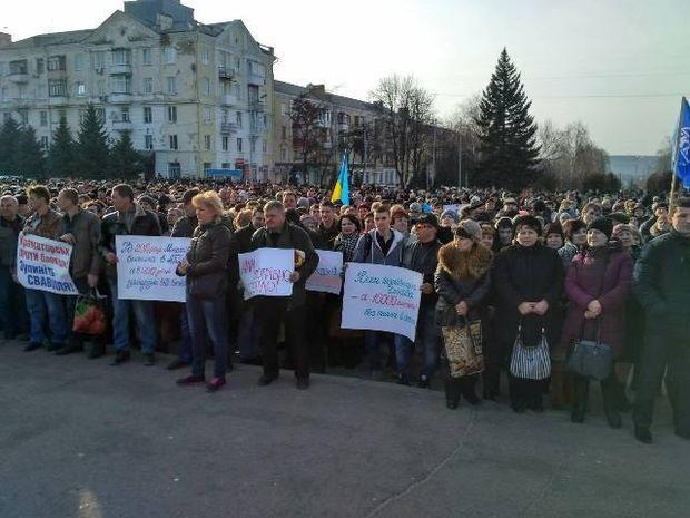 Краматорськ, мітинг