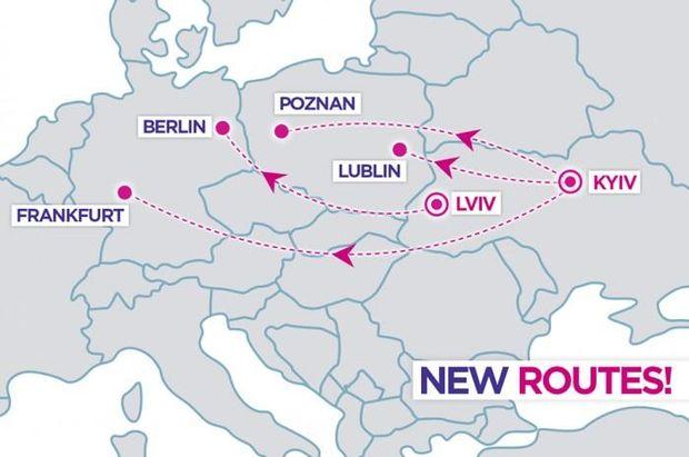 Квитки від 20 євро: Wizz Air відкриває нові рейси з України у Європу