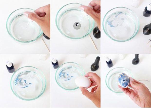 Оформлення пасхальних яєць