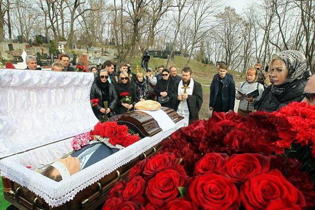 Вороненков, Київ, похорон