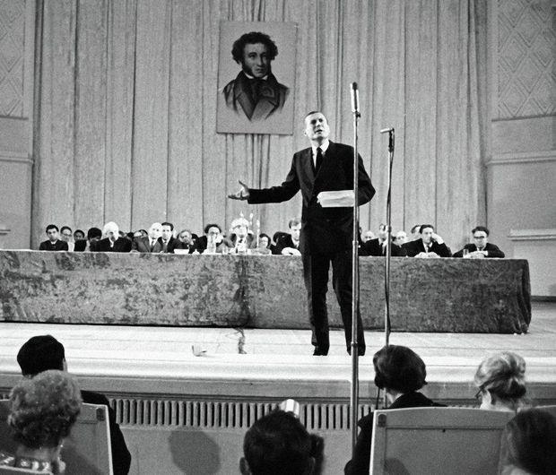 Євген Євтушенко, Москва